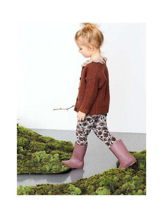 Name It - NMFNELLU SWE PANT BRU -leggingsit - PEYOTE MELANGE   Stockmann - photo 3