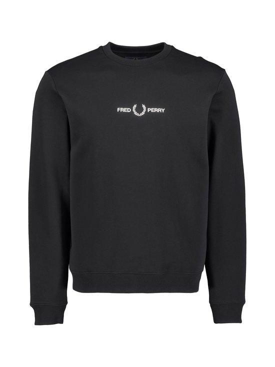Fred Perry - Graphic Sweatshirt -collegepaita - 102 BLACK | Stockmann - photo 1