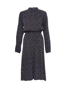 Moss Copenhagen - Eane LS Dress AOP -mekko - BLACK FLOWER | Stockmann