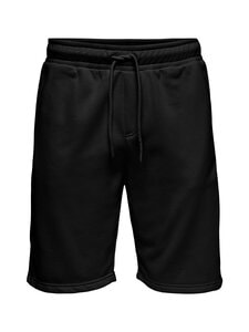 Only & Sons - OnsCeres Life Sweat Shorts -collegeshortsit - BLACK   Stockmann