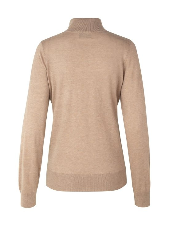 SECOND FEMALE - Felina Knit T-Neck -neule - 6030 GINGER ROOT | Stockmann - photo 2