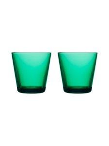 Iittala - Kartio-juomalasi 21 cl, 2 kpl - SMARAGDI | Stockmann