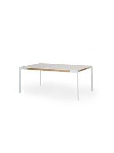 Muurame - Viisto-ruokapöytä 182 x 91 cm - VALKOINEN/TAMMI | Stockmann