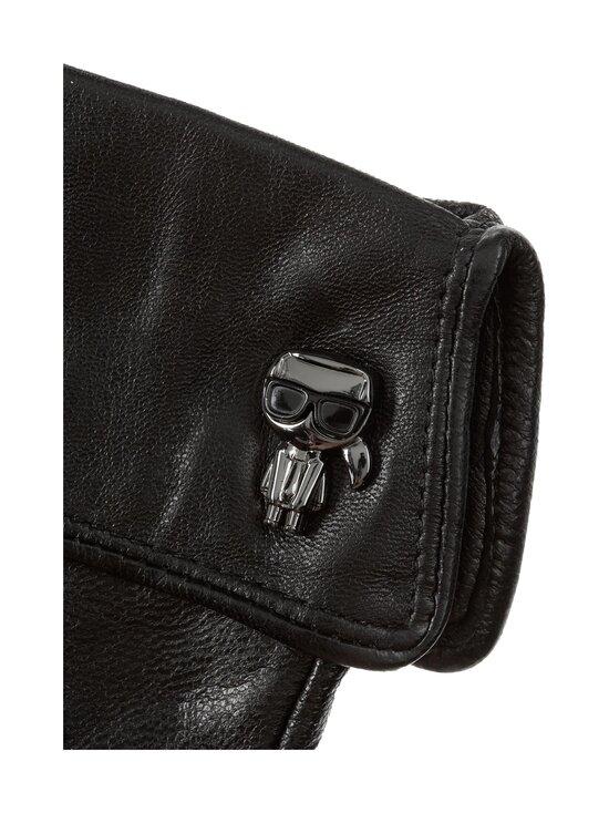 Karl Lagerfeld - K/Ikonik Pin Cuff -nahkakäsineet - A999 BLACK | Stockmann - photo 2
