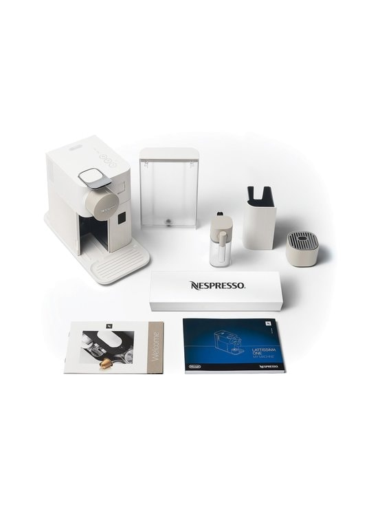 Nespresso - Lattissima One by DeLonghi -kahvikone - VALKOINEN | Stockmann - photo 4