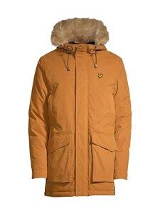 Lyle & Scott - Winter Weight Microfleece Lined Parka -takki - W119 CARAMEL | Stockmann