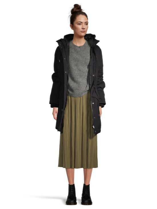 Samsoe & Samsoe - Uma Skirt -hame - GREEN AIR KHAKI | Stockmann - photo 3