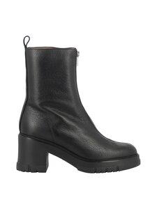 Wonders - H 4420 block heel front zip -nilkkurit - WILD NEGRO | Stockmann