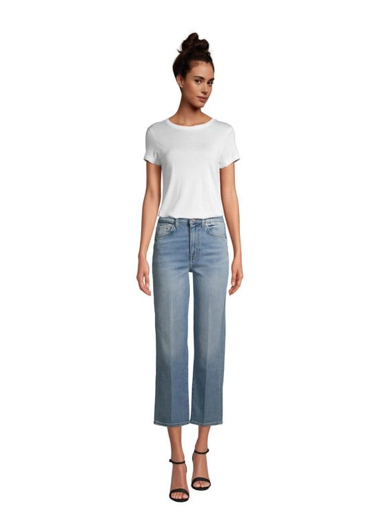 7 For All Mankind - Cropped Alexa Luxe Vintage On Time -farkut - MID BLUE | Stockmann - photo 2