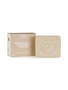Flow Cosmetics - Rhassoul Salt Hair Body Shampoo Bar for Sensitive Scalp and Skin -luomusaippua 120 g - null | Stockmann