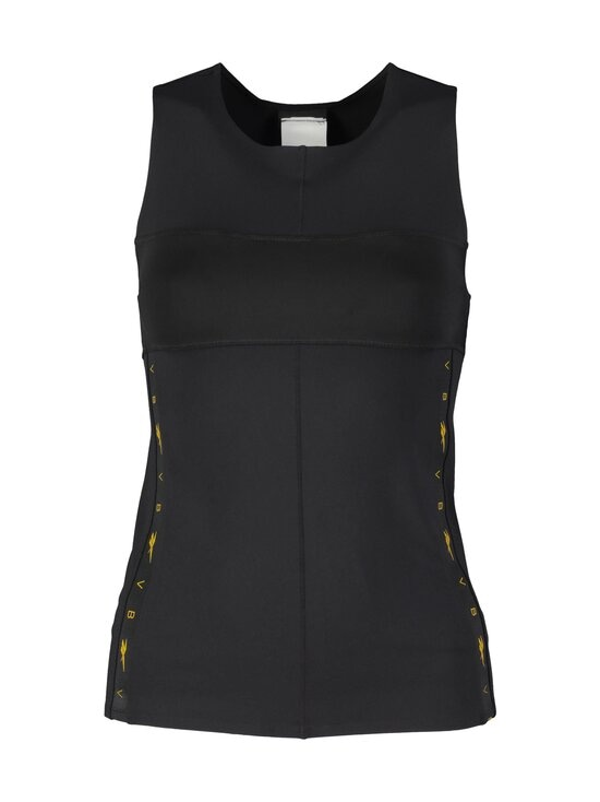 Reebok x Victoria Beckham - VB Logo Tank Top -treenitoppi - BLACK | Stockmann - photo 1