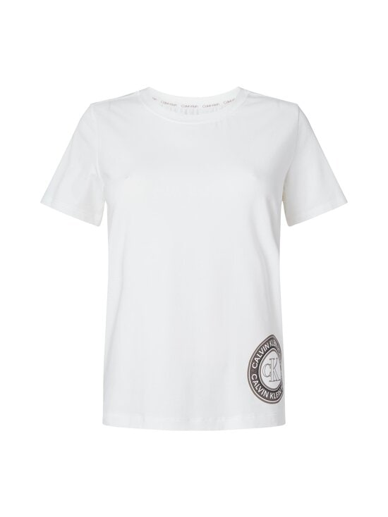 Calvin Klein Underwear - Short Sleeve Crew Neck -paita - 100 WHITE   Stockmann - photo 1