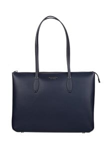 kate spade new york - All Day Large Zip-Top Tote -nahkalaukku - 429 BLAZER BLUE | Stockmann