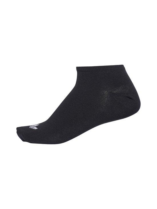 adidas Originals - Trefoil Liner -sukat 3-pack - BLACK/WHITE (MUSTA) | Stockmann - photo 4