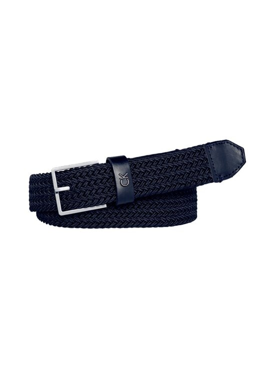 Calvin Klein Bags & Accessories - Formal Elastic Belt -vyö - 411 NAVY | Stockmann - photo 1
