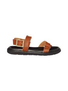 BIANCO - Biadebbie Leather Strap -nahkasandaalit - 240 COGNAC | Stockmann