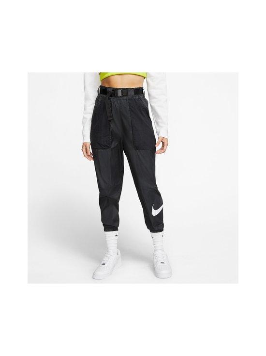 Nike - Sportswear Swoosh -housut - 010 BLACK/WHITE | Stockmann - photo 3