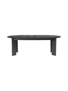 Ferm Living - Bevel Table Extendable -jatkettava pöytä 73 x 117-217 cm - BLACK OILED OAK | Stockmann