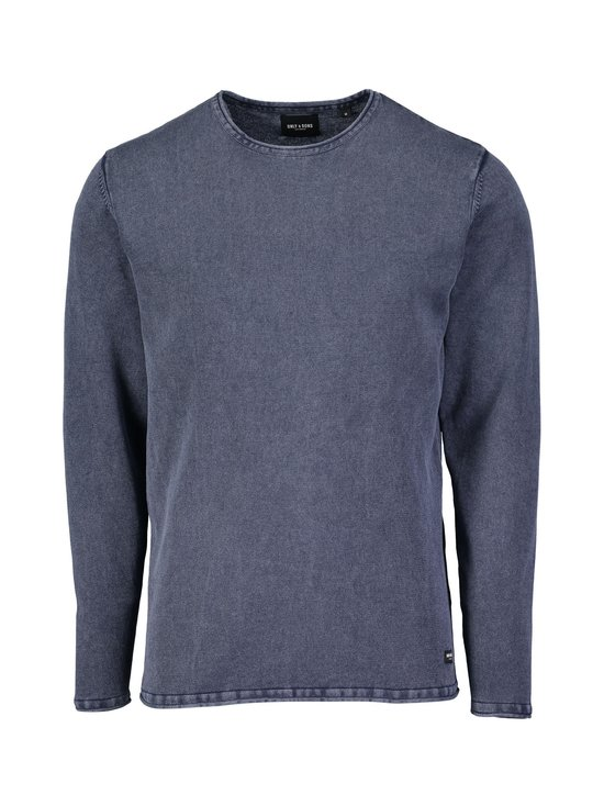 Only & Sons - OnsGarson Wash -puuvillaneule - DRESS BLUES | Stockmann - photo 1