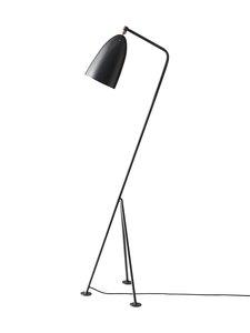 Gubi - Gräshoppa Floor Lamp -lattiavalaisin 125 cm - ANTHRACITE GREY SEMI MATT | Stockmann