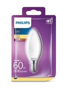 Philips - LED 6,5W E14 B35 -kynttilälamppu - WHITE | Stockmann