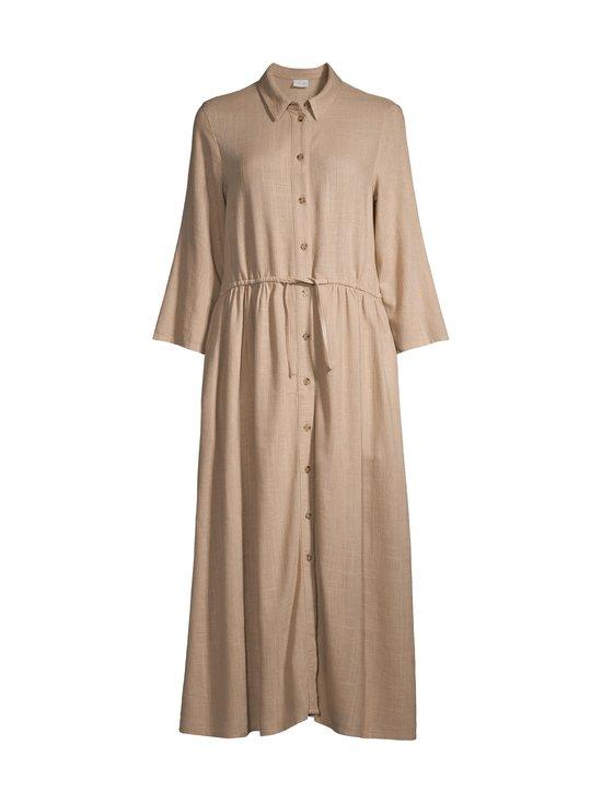 Vila - ViSafari Midi 3/4 Dress -pellavasekoitemekko - BEIGE NOMAD | Stockmann - photo 1