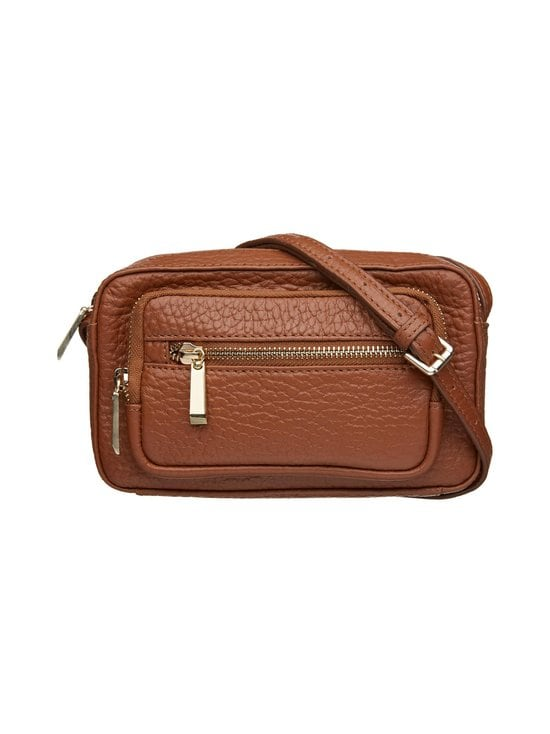 A+more - Alma Crossbody -nahkalaukku - TAN BROWN | Stockmann - photo 1