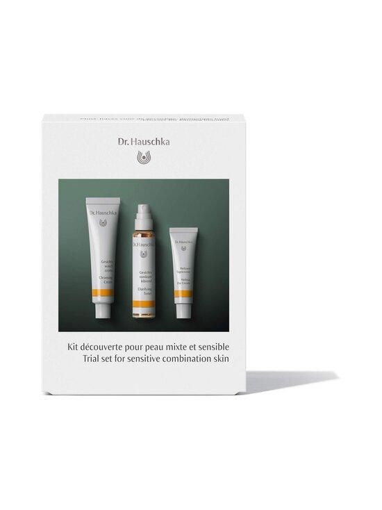Dr.Hauschka - Trial Set For Sensitive Combination Skin -ihonhoitopakkaus - NOCOL | Stockmann - photo 1