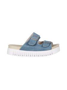 ILSE JACOBSEN - Two Buckles -sandaalit - 639 SMOKE BLUE | Stockmann