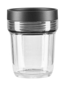 KitchenAid - Sekoitusastia K400-tehosekoittimeen 200 ml - TRANSPARENT/BLACK | Stockmann