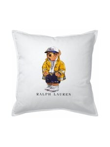 Ralph Lauren Home - RL67 Bear Cushion Cover -tyynynpäällinen 50 x 50 cm - WHITE | Stockmann