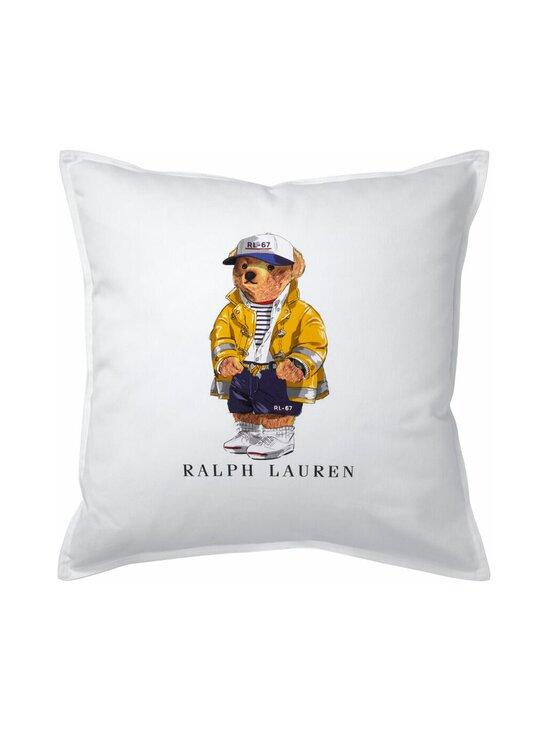 Ralph Lauren Home - RL67 Bear Cushion Cover -tyynynpäällinen 50 x 50 cm - WHITE | Stockmann - photo 1