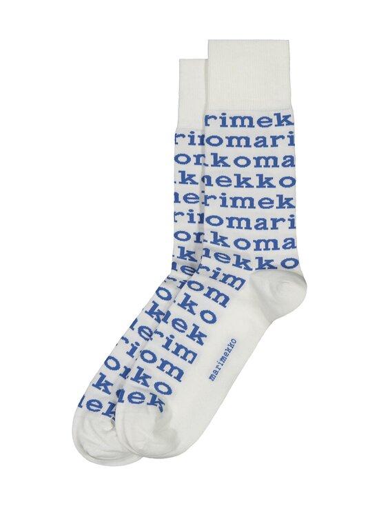Marimekko - Kohina Logo -sukat - 510 WHITE, BLUE | Stockmann - photo 1