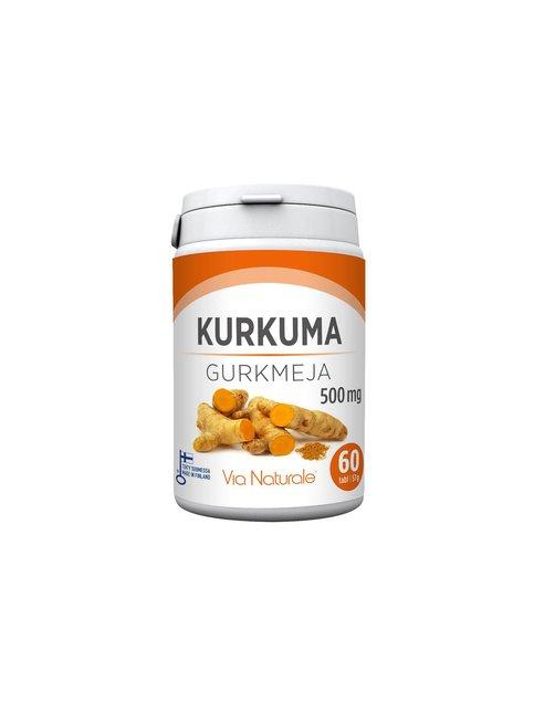 Kurkuma 500 mg, 60 tabl