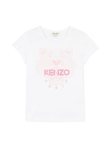 KENZO KIDS - Tiger-paita - 01P OPTIC WHITE | Stockmann