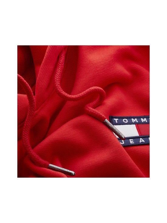 Tommy Jeans - Tjm Tommy Badge -huppari - XNL DEEP CRIMSON | Stockmann - photo 3