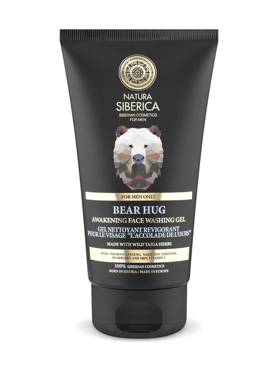 Natura Siberica - MEN Awakening Face Washing Gel Bear Hug -puhdistusgeeli 150 ml   Stockmann - photo 1