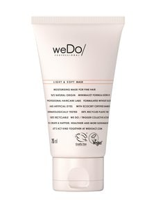 Wedo - Light & Soft Mask -hiusnaamio 75 ml | Stockmann