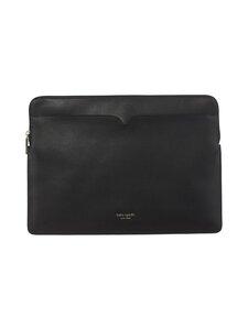kate spade new york - Spencer Universal Laptop Sleeve -nahkainen suojatasku kannettavalle - 001 BLACK | Stockmann