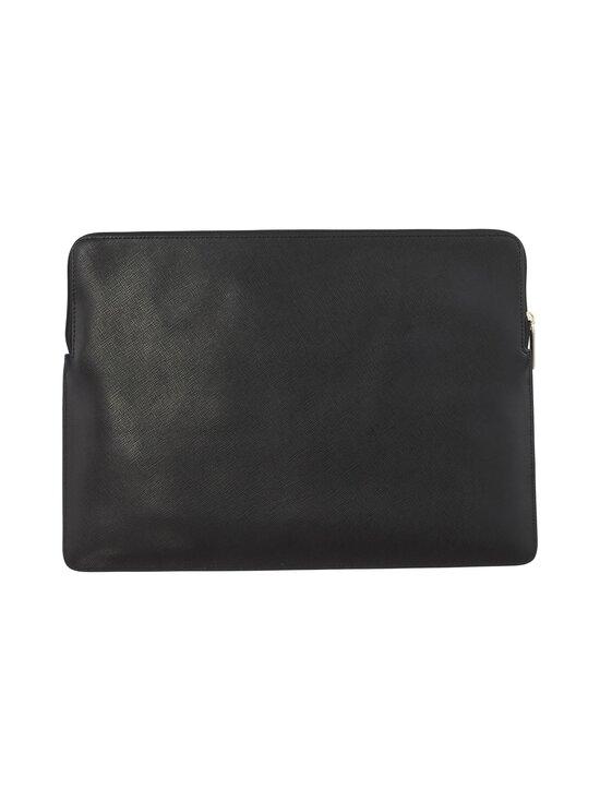 kate spade new york - Spencer Universal Laptop Sleeve -nahkainen suojatasku kannettavalle - 001 BLACK   Stockmann - photo 3
