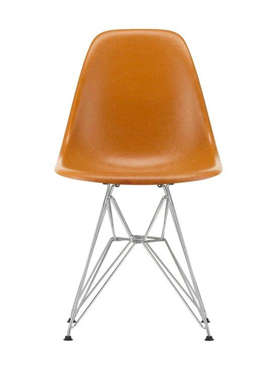 Vitra - Eames DSR Fiberglass -tuoli - 01 CHROME/DARK OCHRE 08 | Stockmann - photo 1
