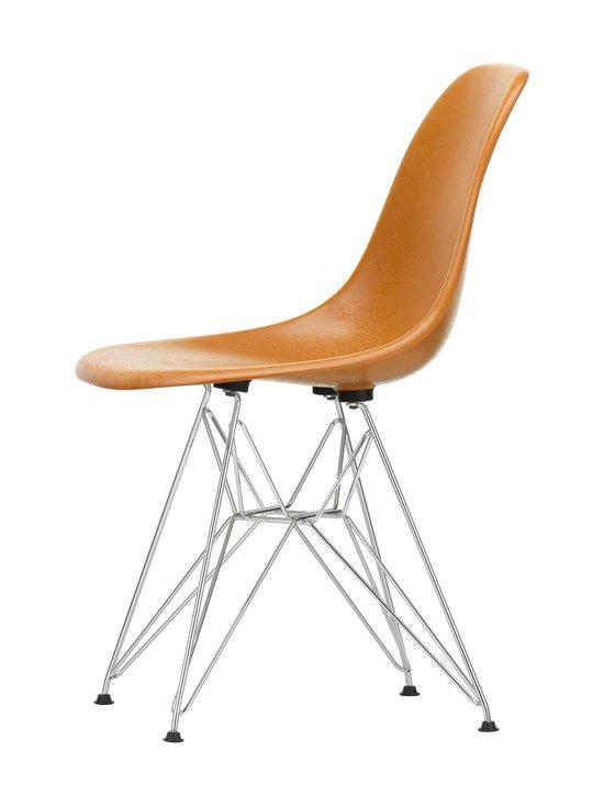 Vitra - Eames DSR Fiberglass -tuoli - 01 CHROME/DARK OCHRE 08 | Stockmann - photo 2