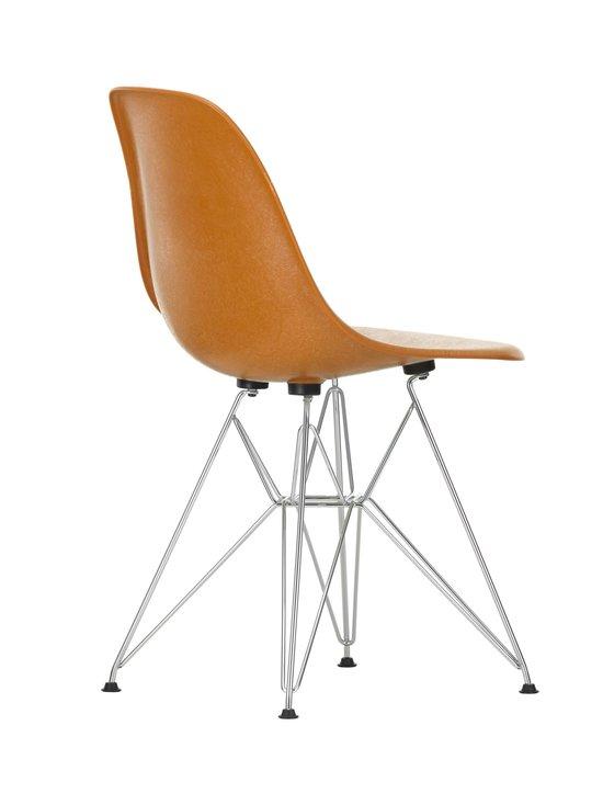 Vitra - Eames DSR Fiberglass -tuoli - 01 CHROME/DARK OCHRE 08 | Stockmann - photo 3