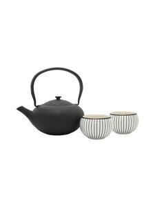 Bredemeijer - Shanxi Tea Set -teepannu ja kaksi kuppia - BLACK | Stockmann