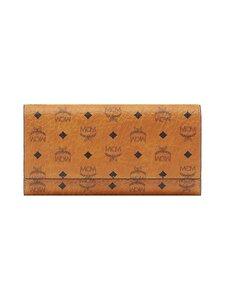 MCM - Trifold Wallet in Visetos Original -lompakko - CO COGNAC | Stockmann