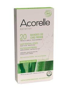 Acorelle - Acorelle- kylmävahaliuskat kasvoille 20 kpl | Stockmann