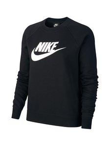 Nike - Sportswear Essential -collegepaita - BLACK/WHITE | Stockmann