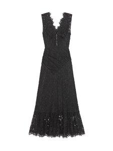 Self-Portrait - Diamante Buttoned Sleeveless Midi Dress -mekko - BLACK | Stockmann