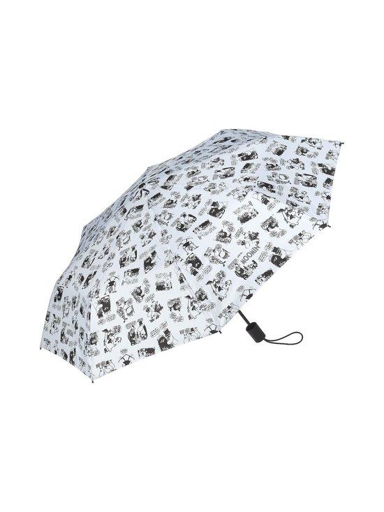 Lasessor - Muumi lomalla -sateenvarjo - VALKOINEN/MUSTA | Stockmann - photo 1