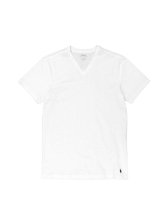 Polo Ralph Lauren - V-Neck Undershirt -paita 2-pack - 24HP WHITE | Stockmann - photo 1